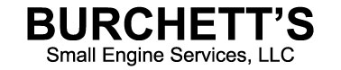 Burchett's Small Engine Service & Repair Logo